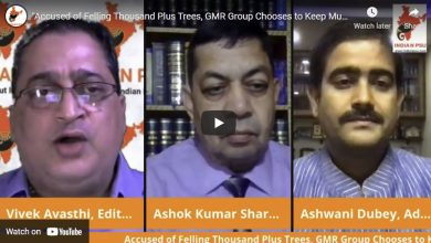 """Photo of """"Accused of Felling Thousand Plus Trees, GMR Group Chooses to Keep Mum"""""""