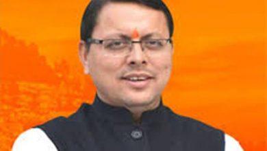 Photo of No More RTPCR Report Needed To Enter Uttarakhand : CM Dhami