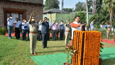 Photo of Uttarakhand CM Dhami Hoists Tricolour On Occassion of 74th Independence Day